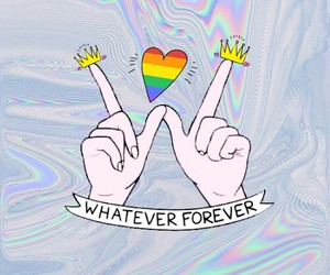 hipster, holographic, and life image
