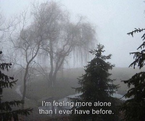 alone, feeling, and more image