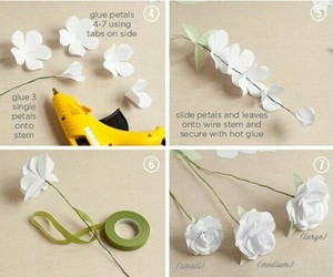 diy, flowers, and crafts image