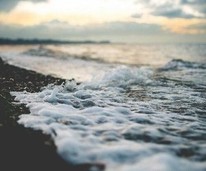 photography, water, and tide image