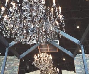 luxury, chandelier, and light image