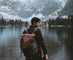 adventure, boy, and cold image