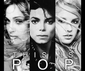 britney spears, madonna, and pop image