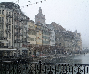 snow and lucerne image