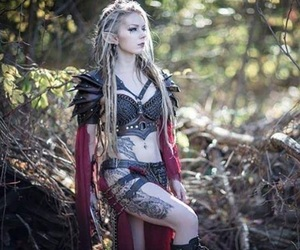 celtic, cosplay, and dragon image