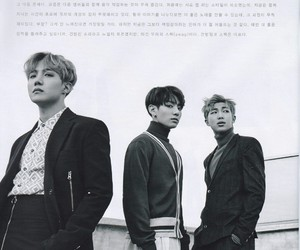 bts, kim namjoon, and jhope image