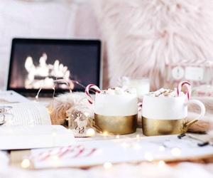 christmas, holiday, and drink image