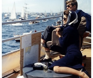 JFK, boat, and kennedy image