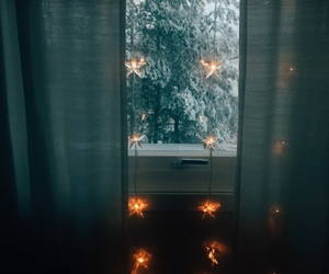 christmas, decorations, and nature image