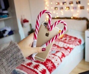 beautiful, candycane, and christmas image