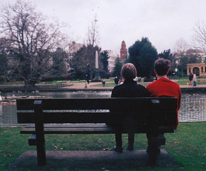 indie, couple, and vintage image