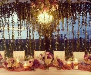 amazing, table, and wedding image