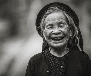 happy, old, and laughing image