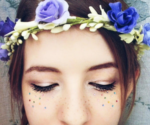 colors, dreamers, and flowers image