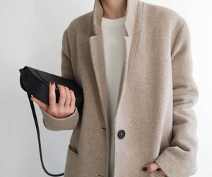 casual, coat, and elegance image