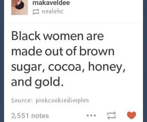 beauty, black, and black beauties image
