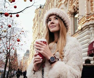 christmas, fashion, and street style image
