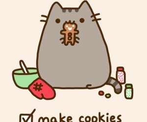 Cookies, pusheen, and cat image