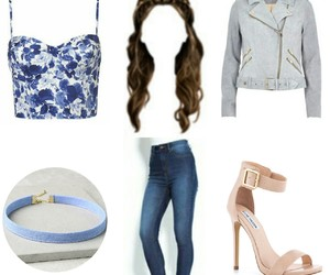 blue, chic, and clothes image
