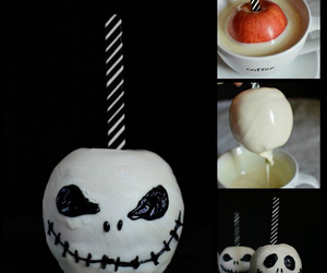 Halloween, candy apple, and diy image