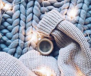 light, coffee, and winter image