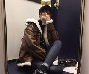 aesthetic, asian fashion, and black image