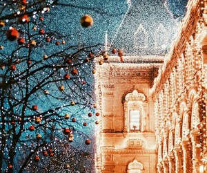 christmas, moscow, and winter image