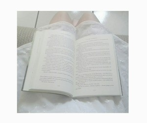 aesthetic, white, and books image