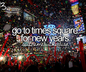 bucket list, bucketlist, and new year image