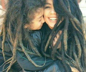 dreads, family, and free image