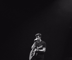 black, guitar, and shawn image