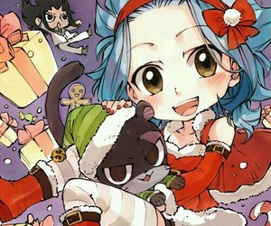 anime, fairy tail, and levy image
