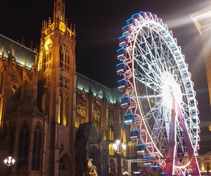beautiful, big wheel, and cathedral image