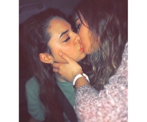 femme, homosexual, and kissing image