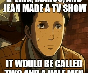 anime, OMG, and two and a half men image