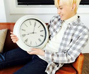 bae, blonde, and kpop image