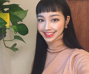 asian, girl, and happy image