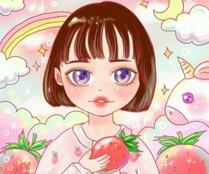 drawing, kawaii, and picture image
