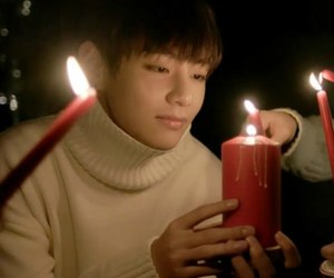 candle, christmas, and cozy image