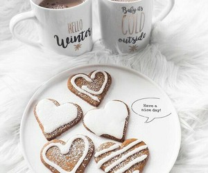 coffee, cold, and Cookies image