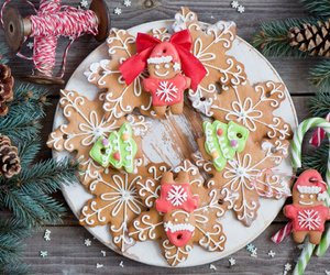 Cookies, gingerbread, and merry christmas image