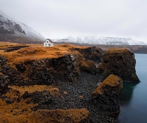 iceland, nature, and house image