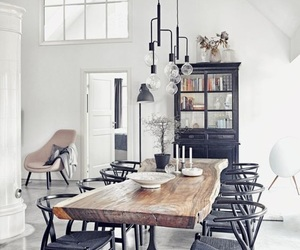 design, dining room, and interior image