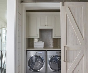 interior, laundry room, and design m image