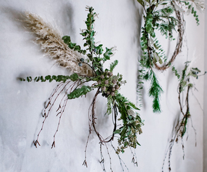 diy, wreath, and copper wreath image