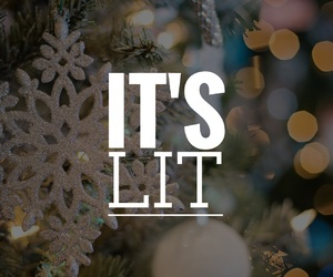 bokeh, christmas, and easel image