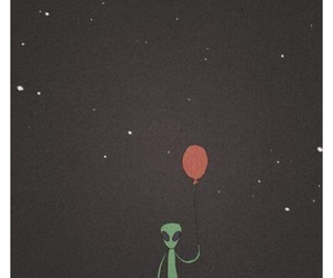 aliens and balloons image