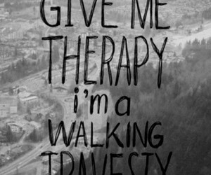 therapy, quote, and all time low image
