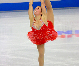 Figure, skating, and ice skaters image