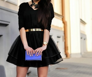 fashion, dress, and lovely image